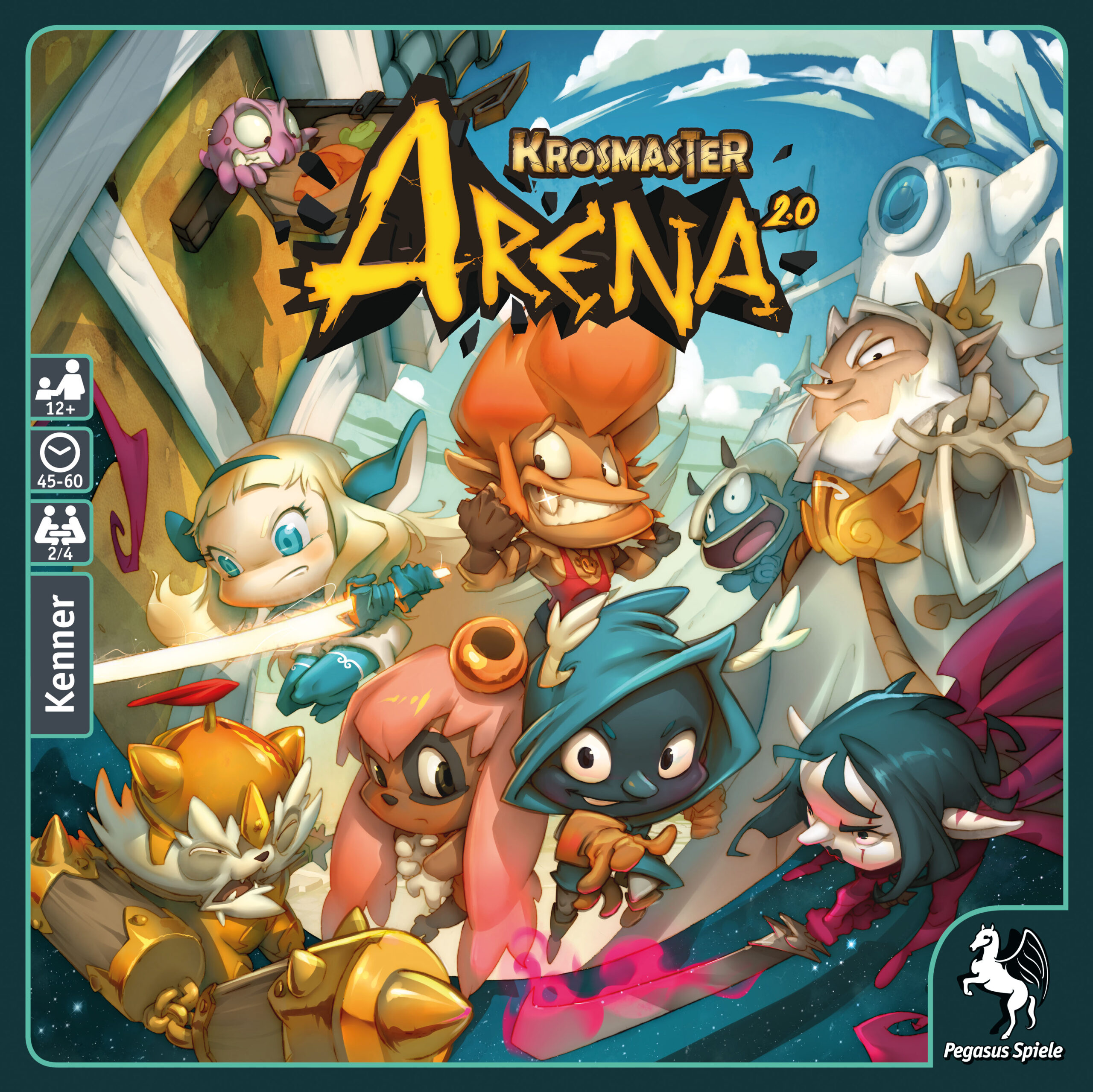 Krosmaster Arena: Demorunden Krosmaster Arena